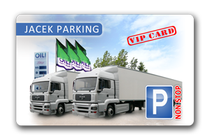 Jacek Parking VIP Card